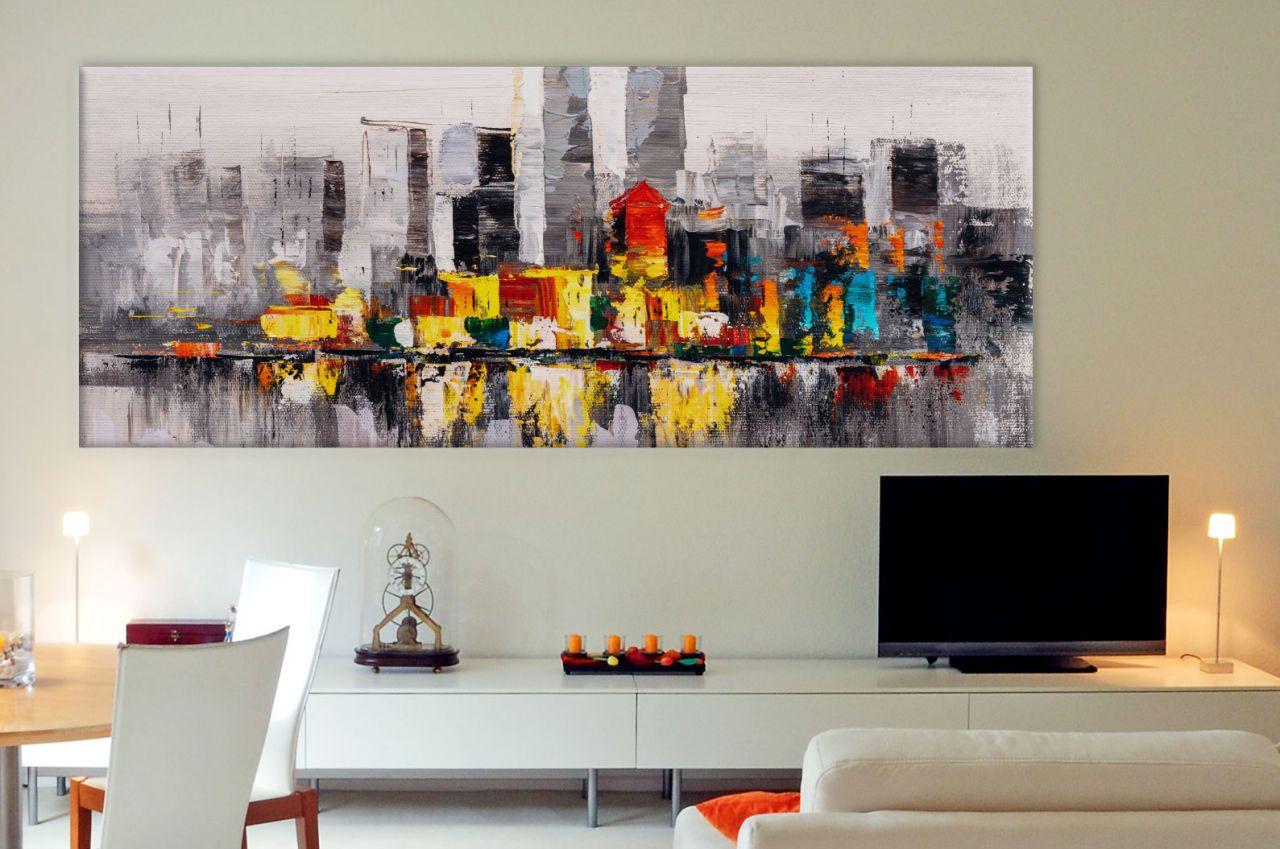 תמונת קנבס ציור שמן עיר ניו יורק