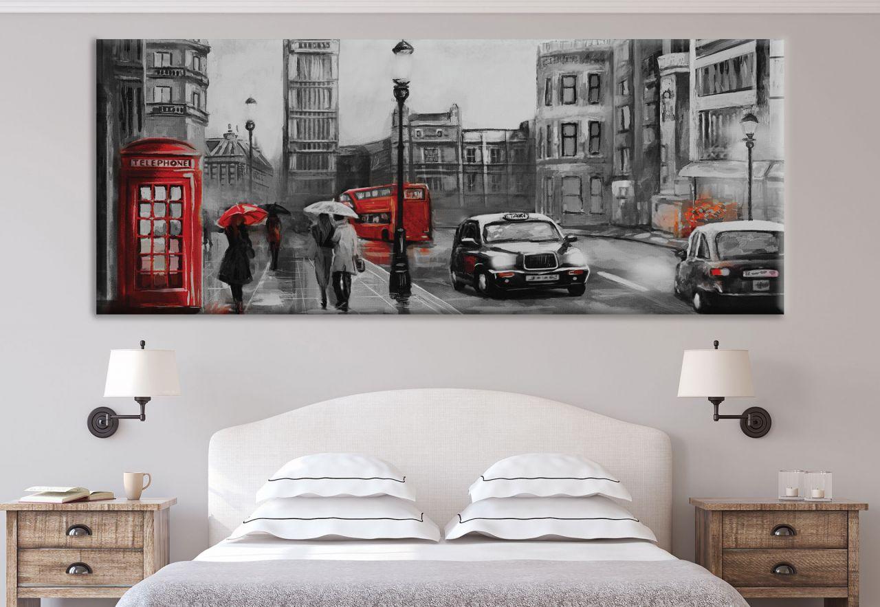 תמונת קנבס ציור שמן לונדון