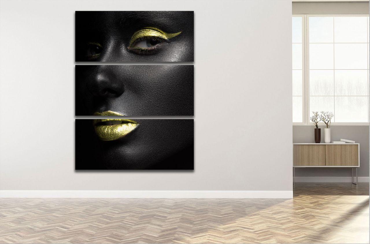 תמונת קנבס דיוקן אישה אפריקאית
