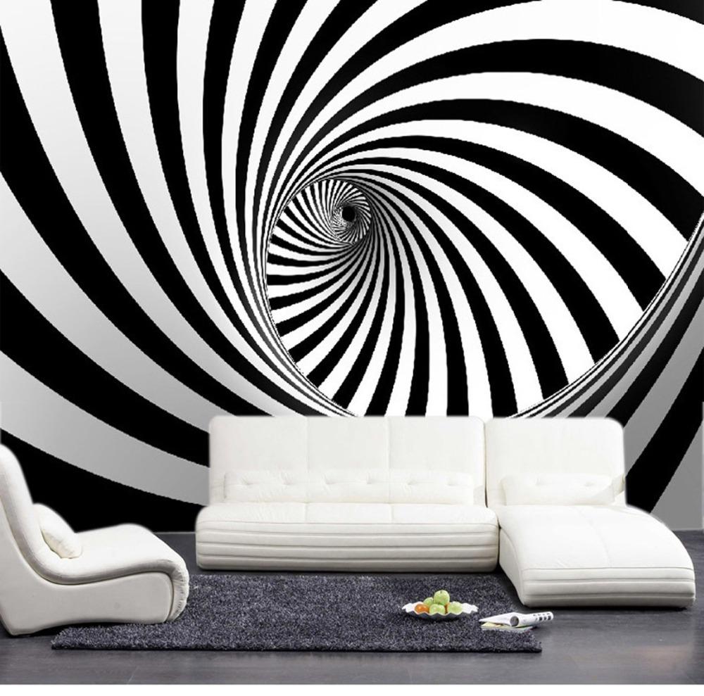 תמונת טפט קווי זברה תלת מימד