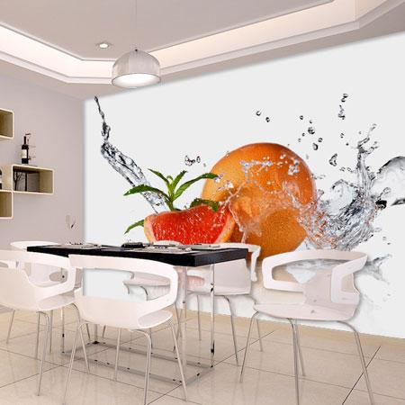 תמונת טפט פירות בתלת מימד
