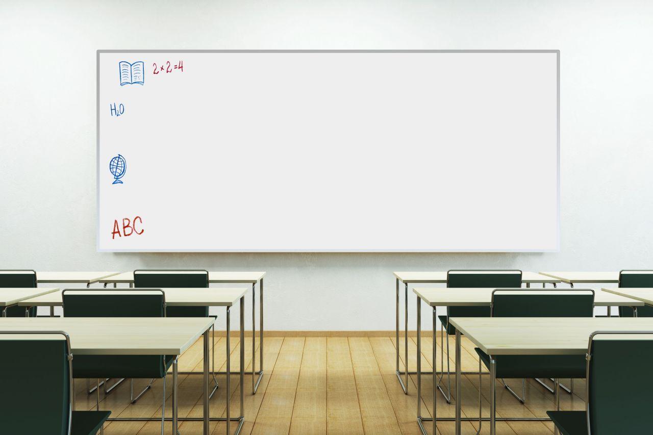 מדבקת קיר לוח מחיק חזרה ללימודים החל מ-