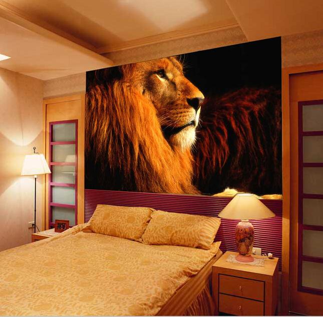 תמונת טפט אריה תלת מימד