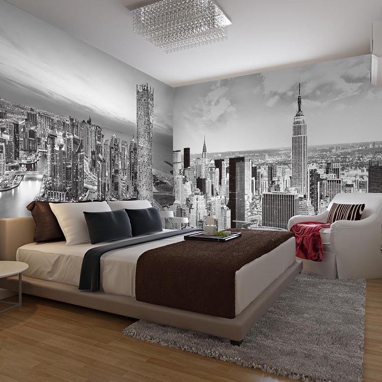 תמונת טפט ניו יורק סיטי תלת מימד
