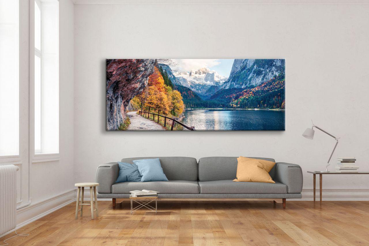 תמונת קנבס נוף ציורי האלפים