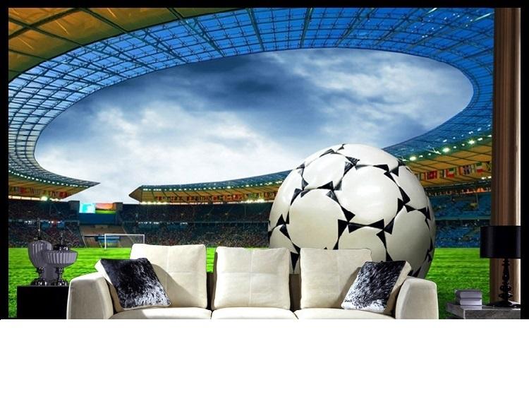 תמונת טפט תלת מימד אצטדיון כדורגל