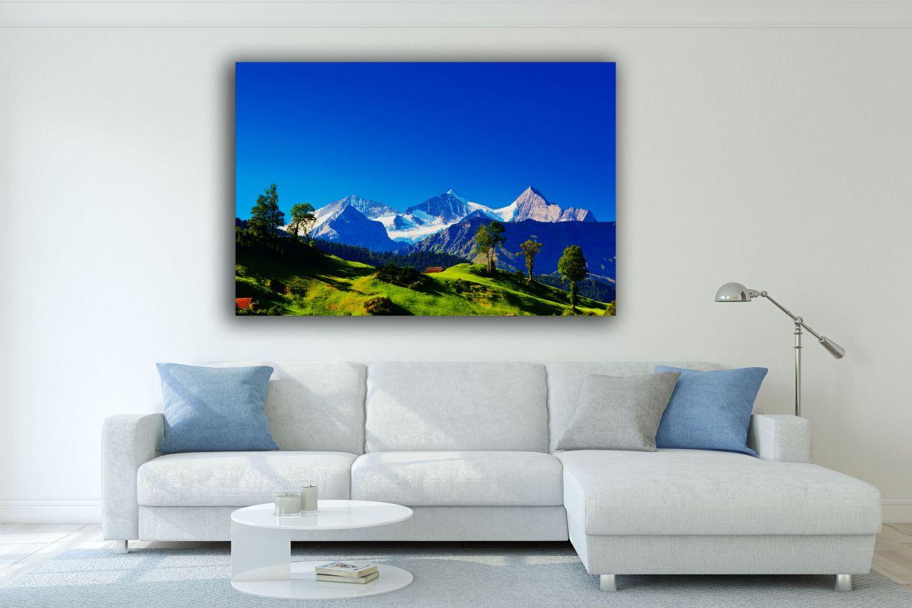 תמונת קנבס נוף אל הרי האלפים