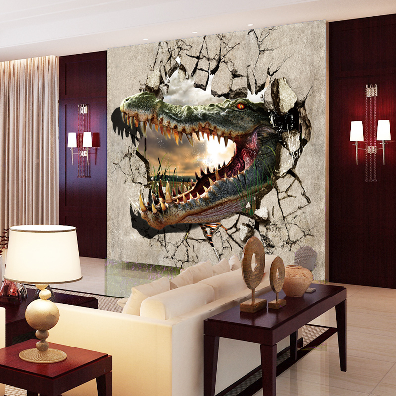 תמונת טפט ראש דינוזאור תלת מימד