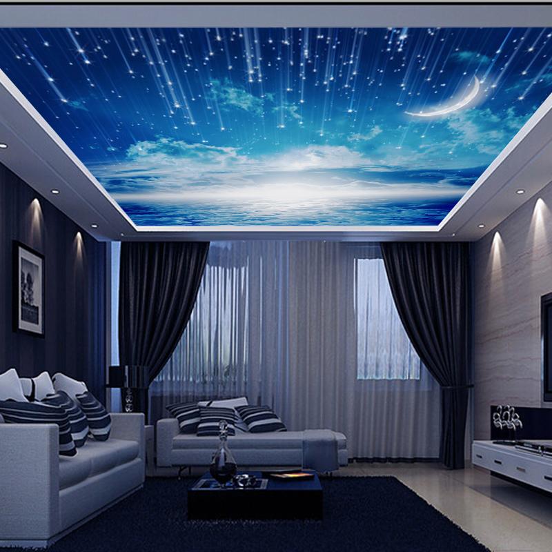 תמונת טפט שמיים וכוכבים תלת מימד