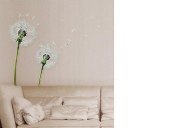 מדבקת קיר פרחי סבא