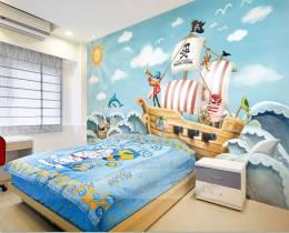 תמונת טפט ספינת פיראטים תלת מימד