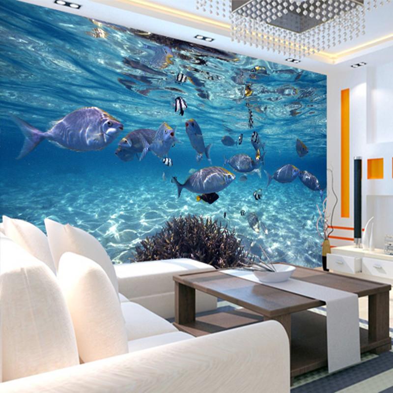 תמונת טפט דגים בים