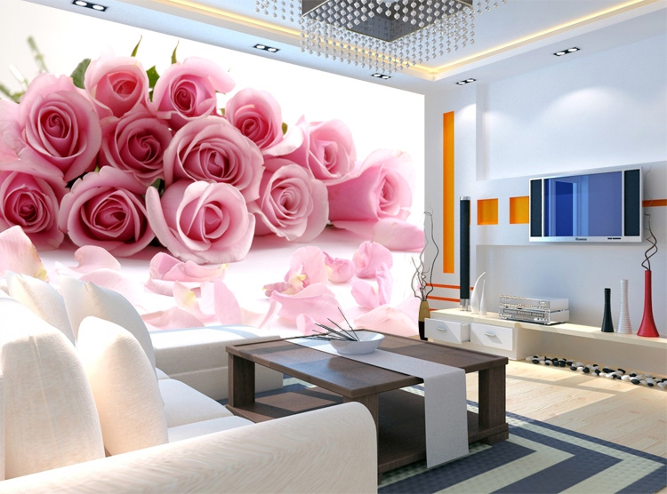 תמונת טפט ורדים ורודים