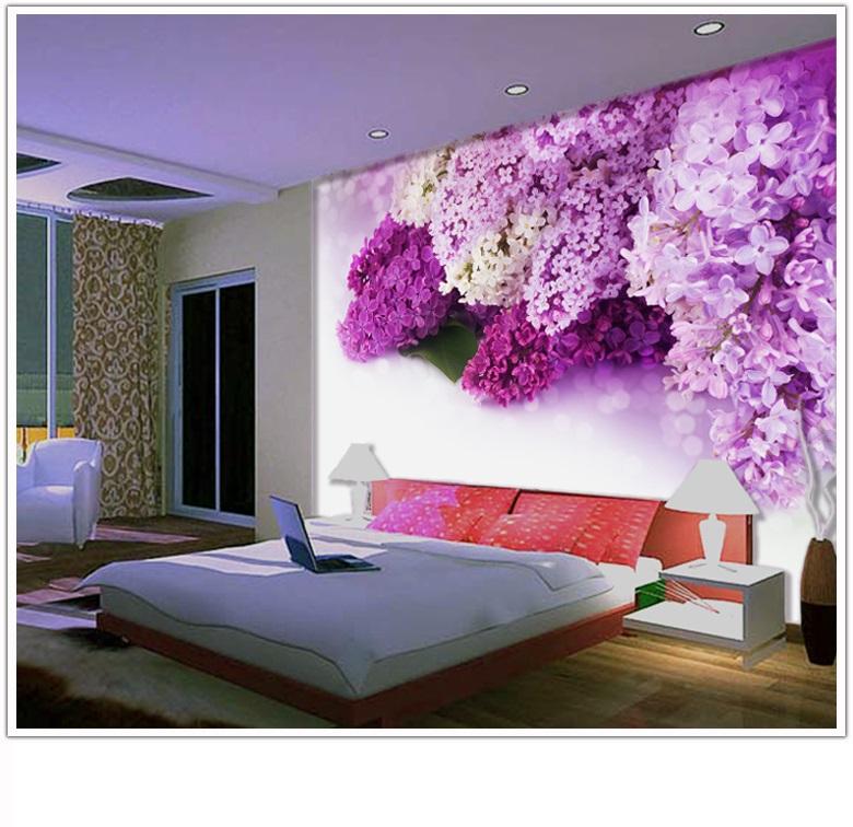 תמונת טפט פרחים סגולים