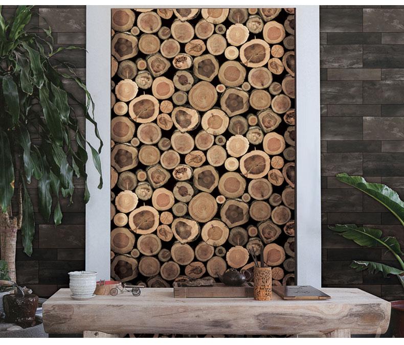 תמונת טפט בולי עץ תלת מימד