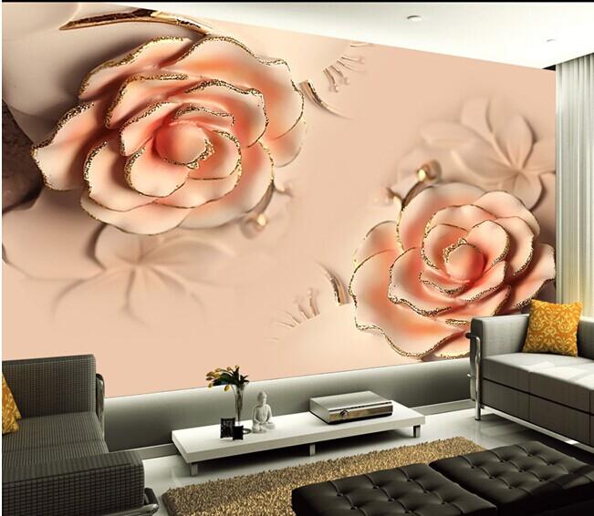 תמונת טפט פרחים גדולים