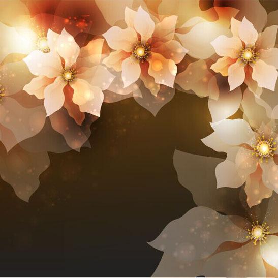 תמונת טפט פרחים כתומים