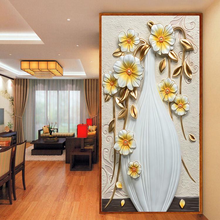 תמונת טפט ארגטל עם פרחים תלת מימד