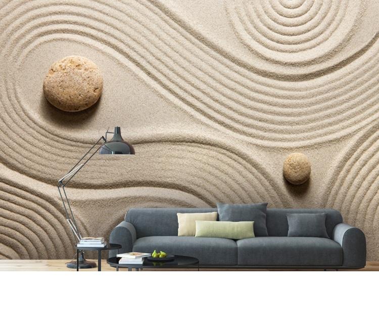 תמונת טפט קיר מאבן תלת מימד