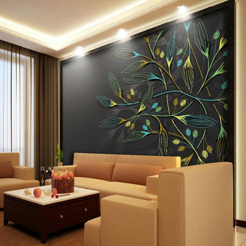 תמונת טפט ציור עץ תלת מימד