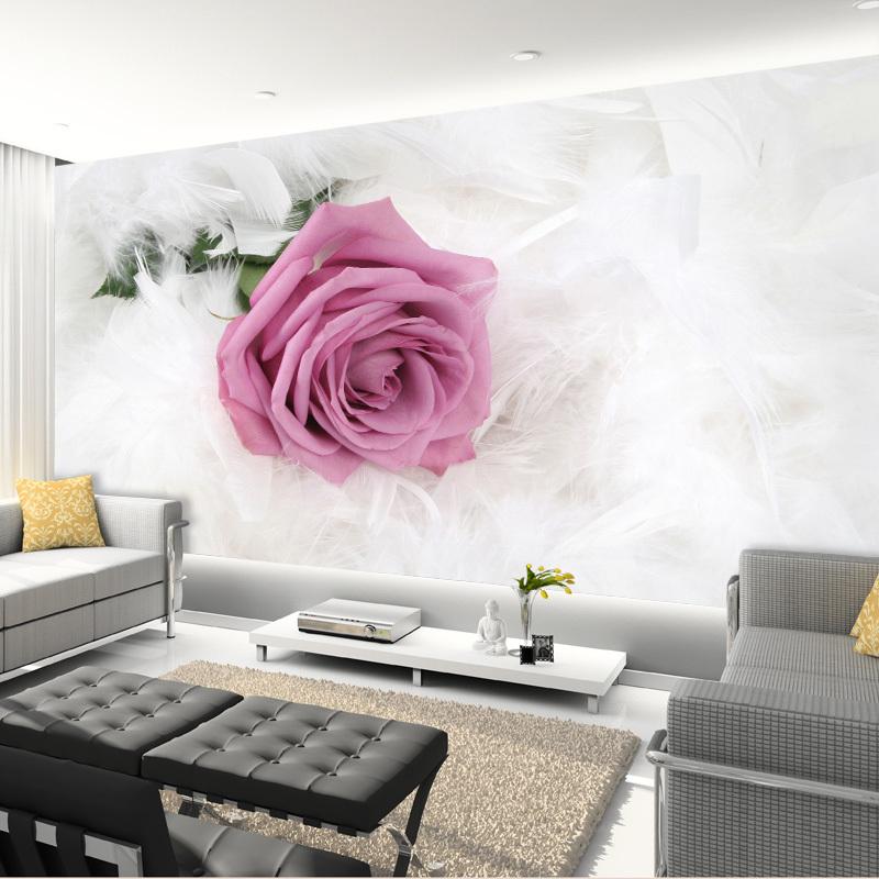 תמונת טפט ורד גדול תלת מימד