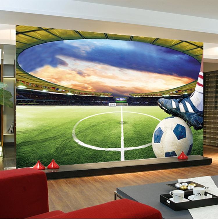 תמונת טפט אצטדיון כדורגל תלת מימד