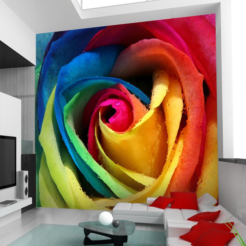 תמונת טפט פרח צבעוני