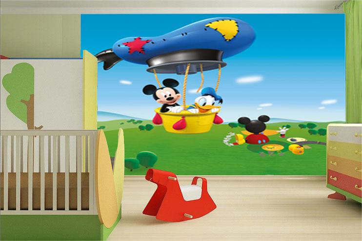 תמונת טפט מיקי וחברים לחדרי ילדים