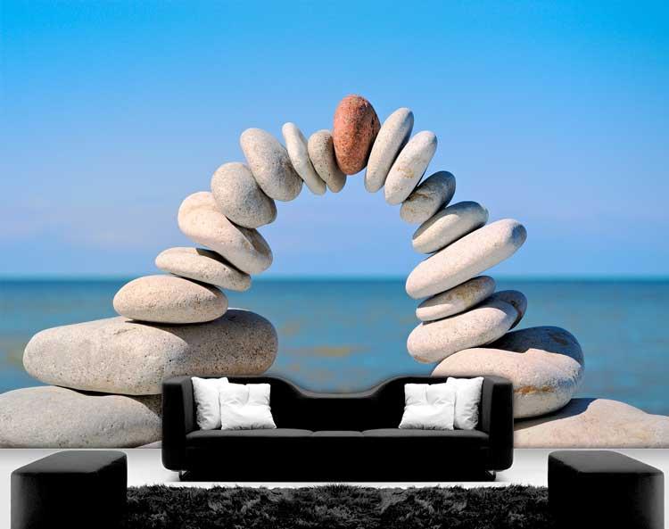 תמונת טפט קשת מאבנים