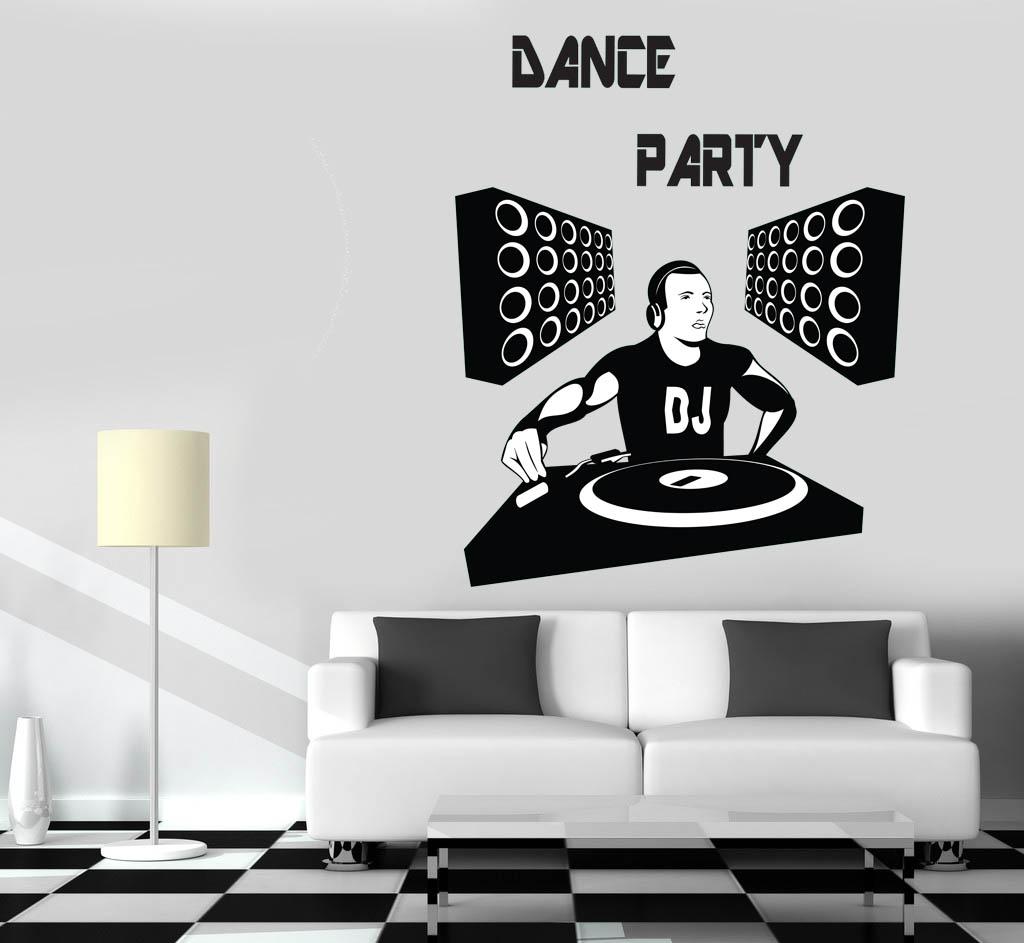 מדבקת קיר מסיבת ריקודים