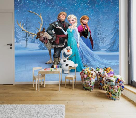 תמונת טפט FROZEN לחדרי ילדים