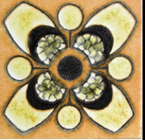 מדבקות קיר לאריחים פרח