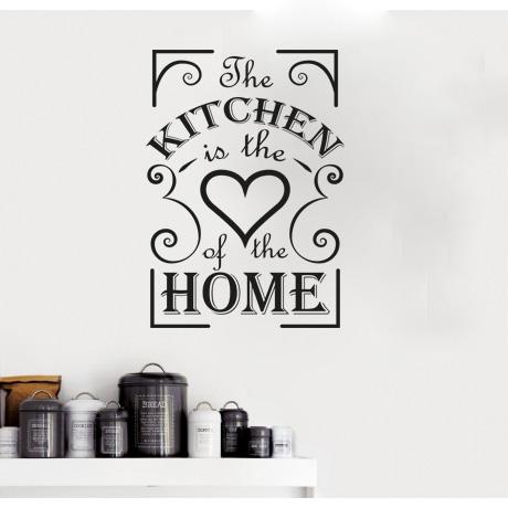 מדבקת קיר משפט למטבח