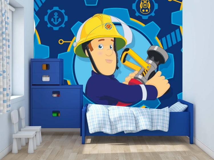 תמונת טפט סמי הכבאי לחדרי ילדים