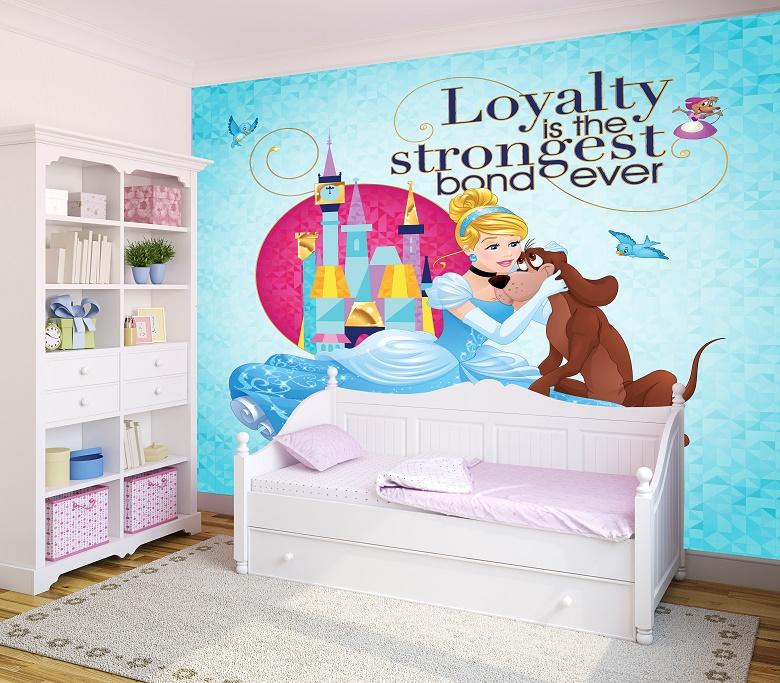 תמונת טפט נסיכה לחדרי ילדים