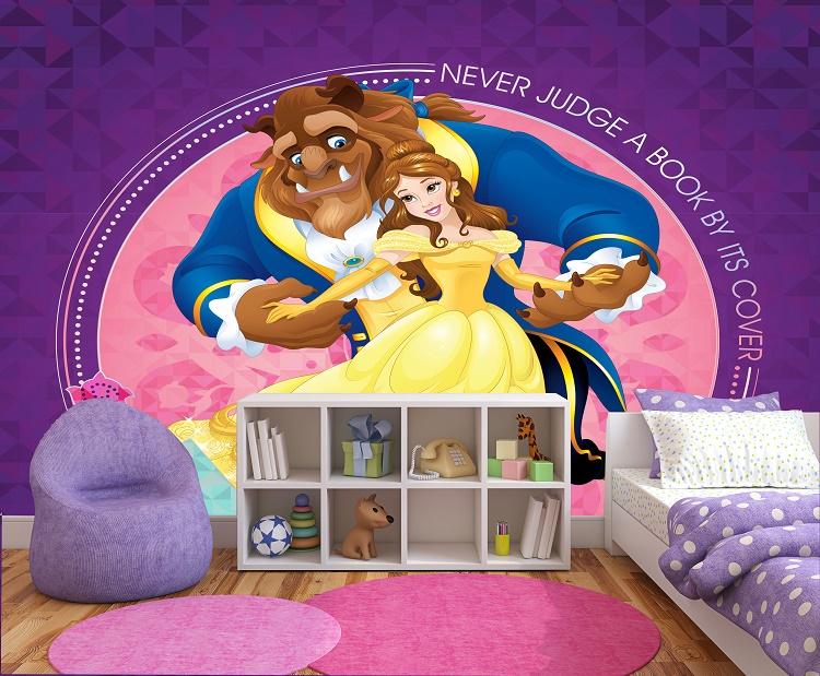 תמונת טפט היפה והחיה לחדרי ילדים