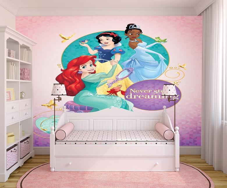 תמונת טפט נסיכות לחדרי ילדים