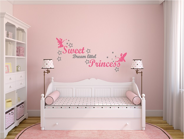 מדבקת קיר SWEET DREAM LITTEL PRINCESS