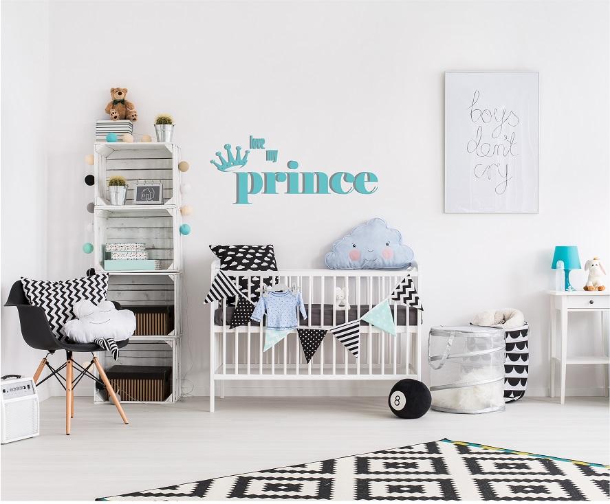 מדבקת קיר לחדר ילדים  PRINCE