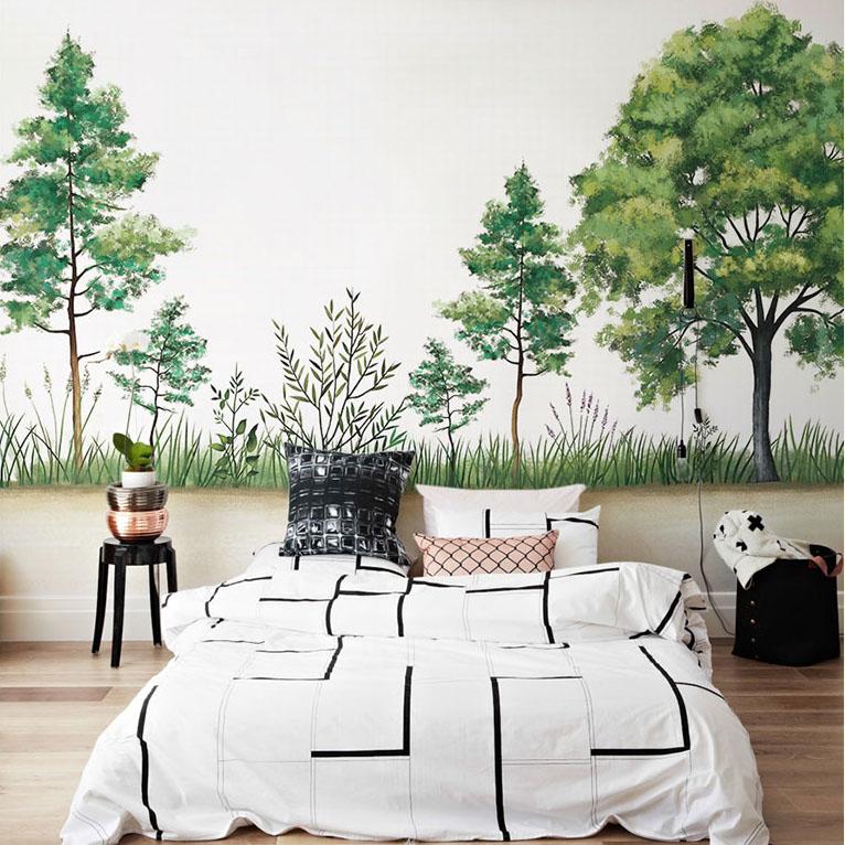 תמונת טפט קיר עצים