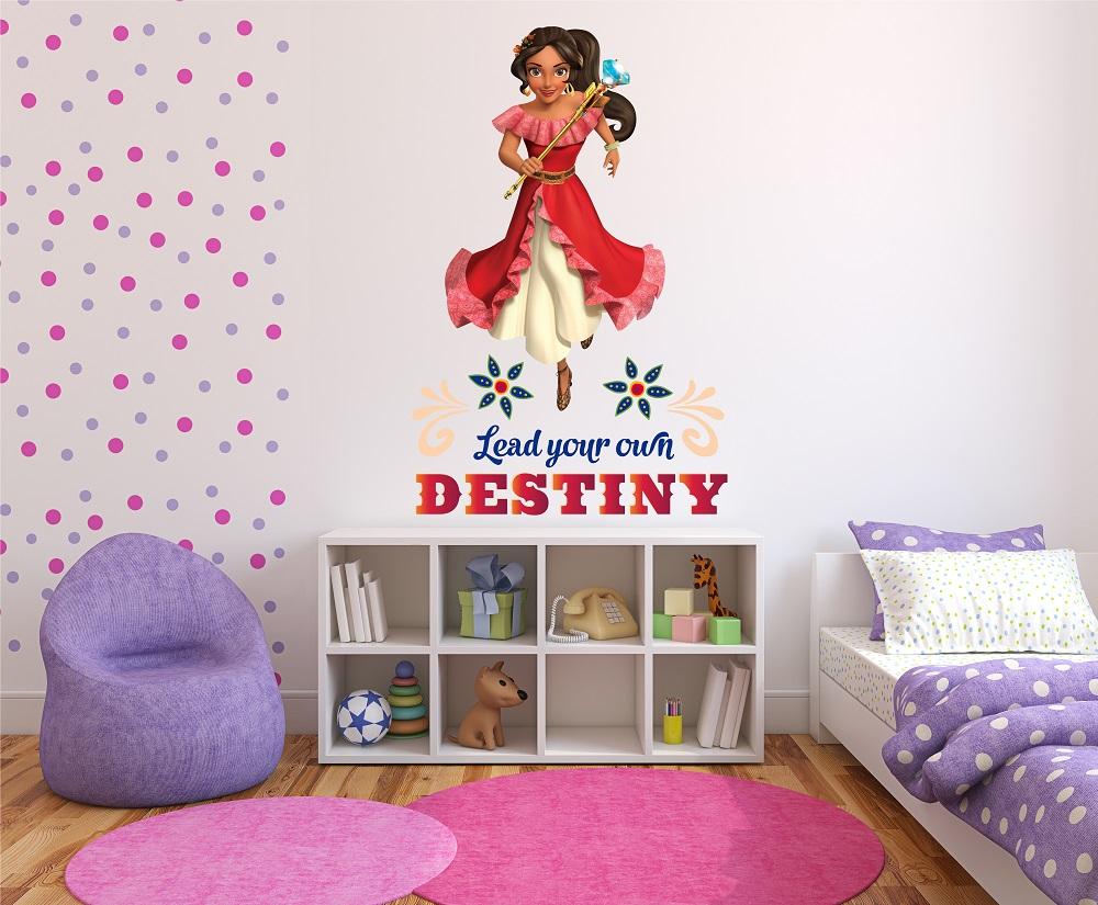 מדבקת קיר הנסיכה הלנה לחדרי ילדים