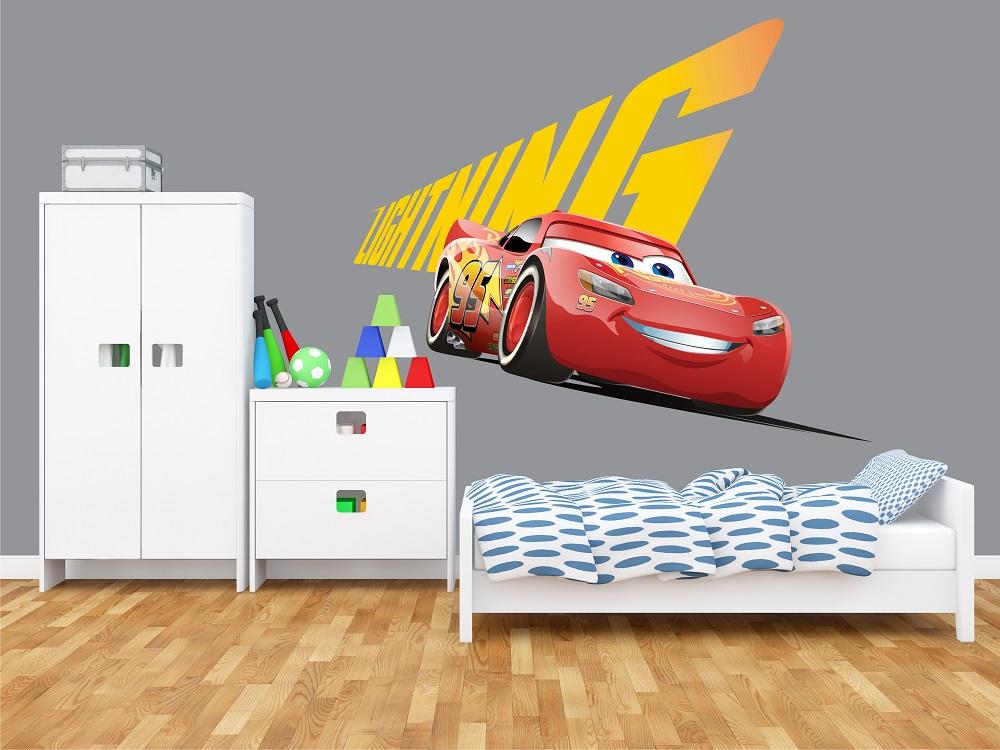 מדבקת קיר מכונית לחדרי ילדים