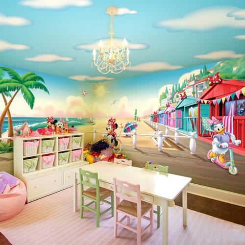 תמונת טפט קיר מיני מאוס ודייזי לחדריי ילדים