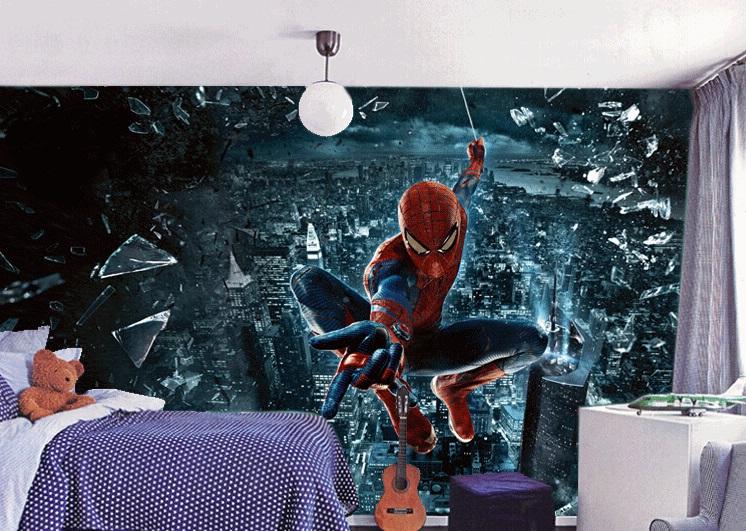 תמונת טפט קיר ספיידרמן לחדרי ילדים