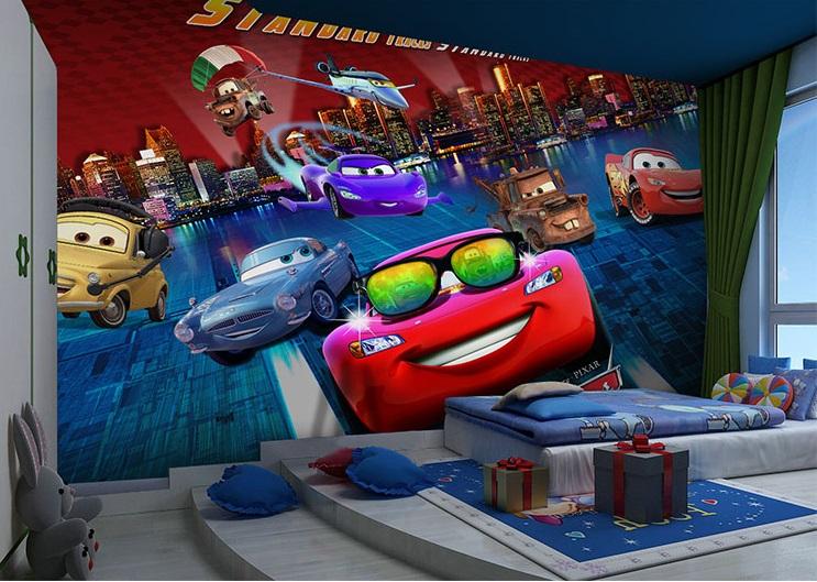 תמונת טפט CARS לחדרי ילדים