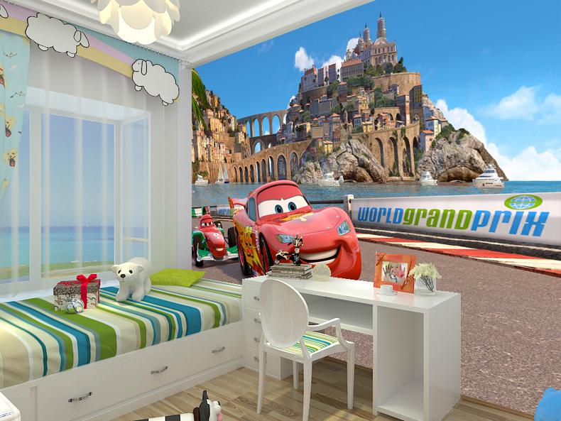 תמונת טפט מכוניות 2 לחדרי ילדים