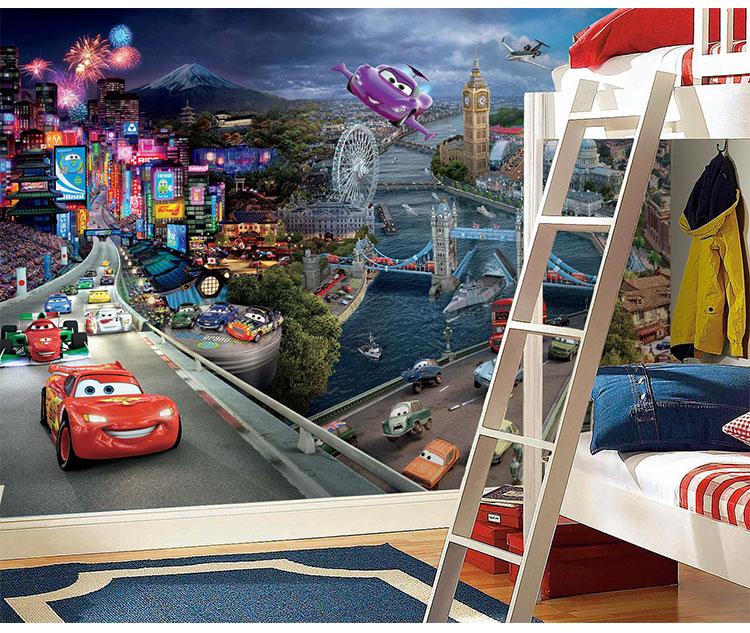 תמונת טפט קיר מכוניות 3 לחדרי ילדים