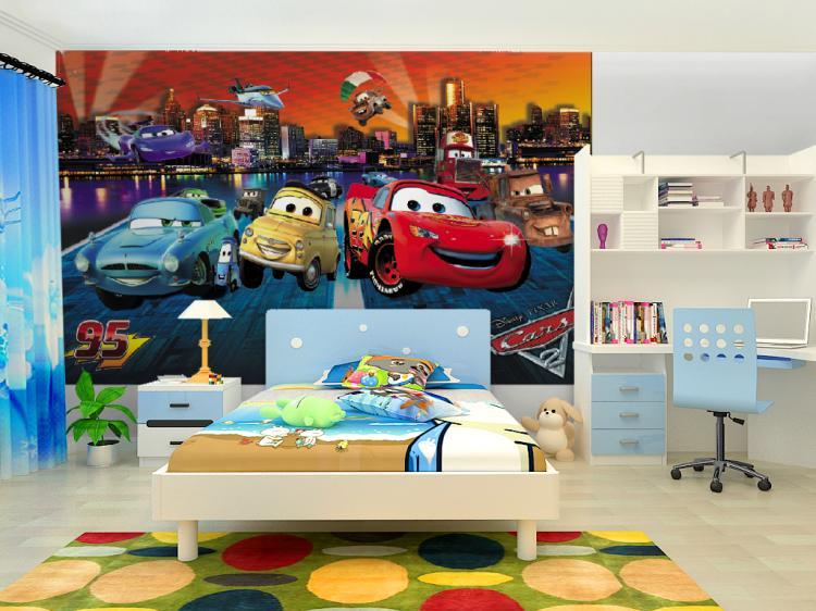 תמונת טפט קיר מכוניות 5 לחדרי ילדים