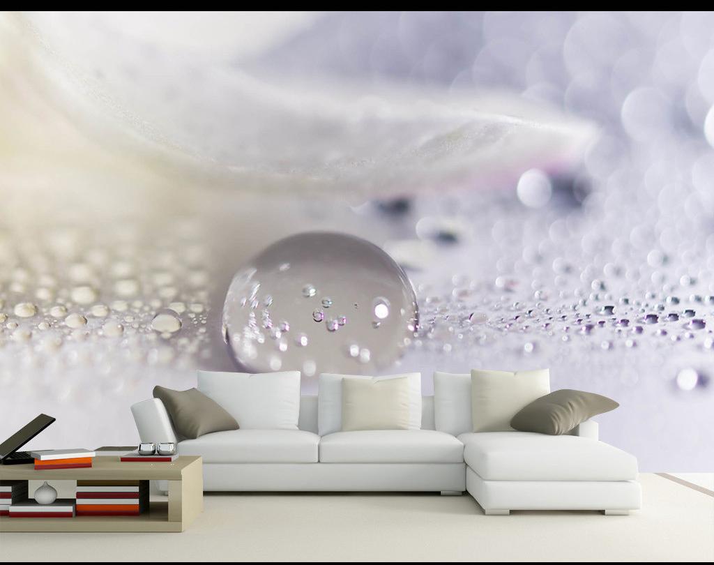 תמונת טפט קיר תלת מימד עם כדור