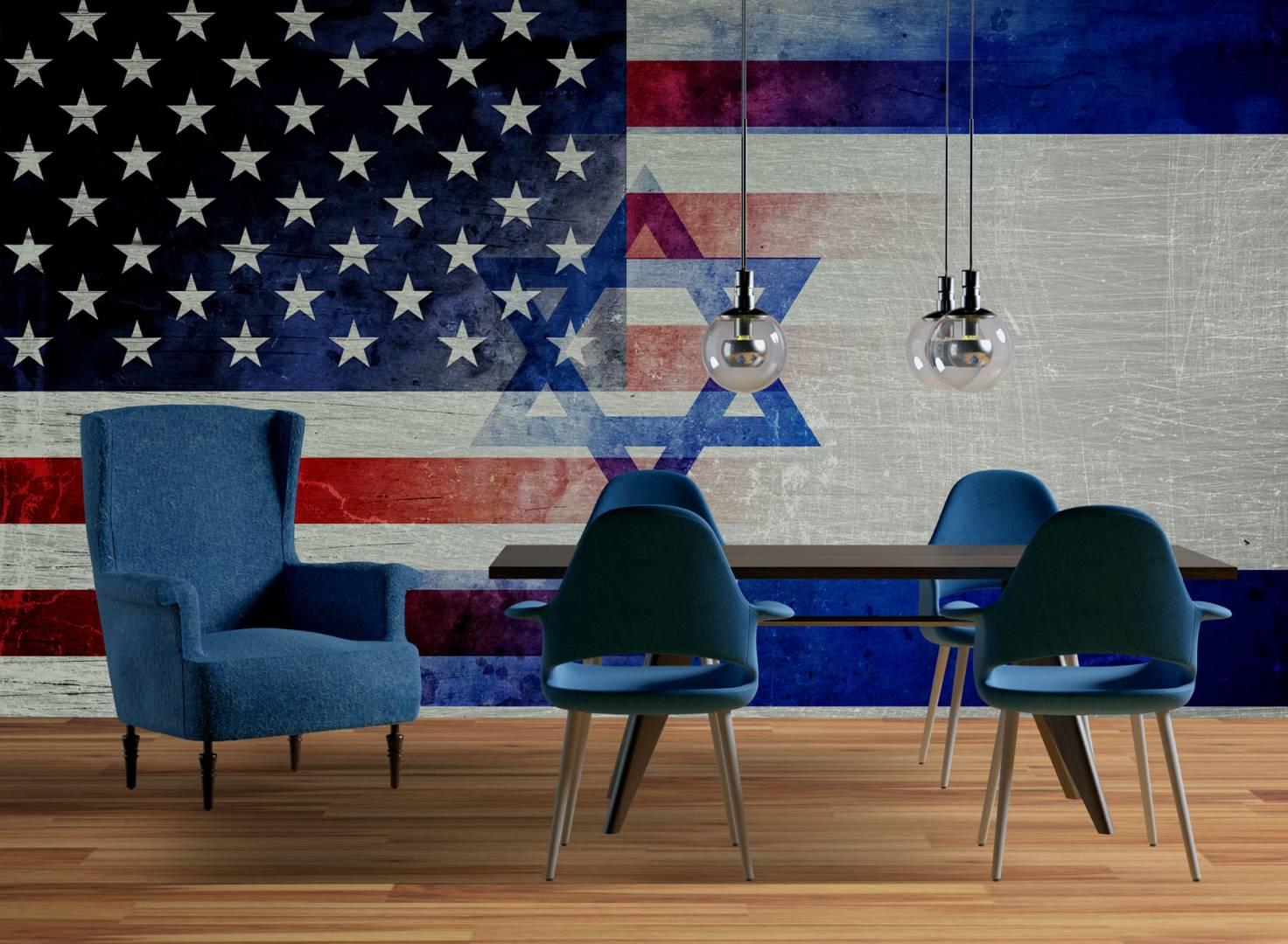 טפט USA ISRAEL